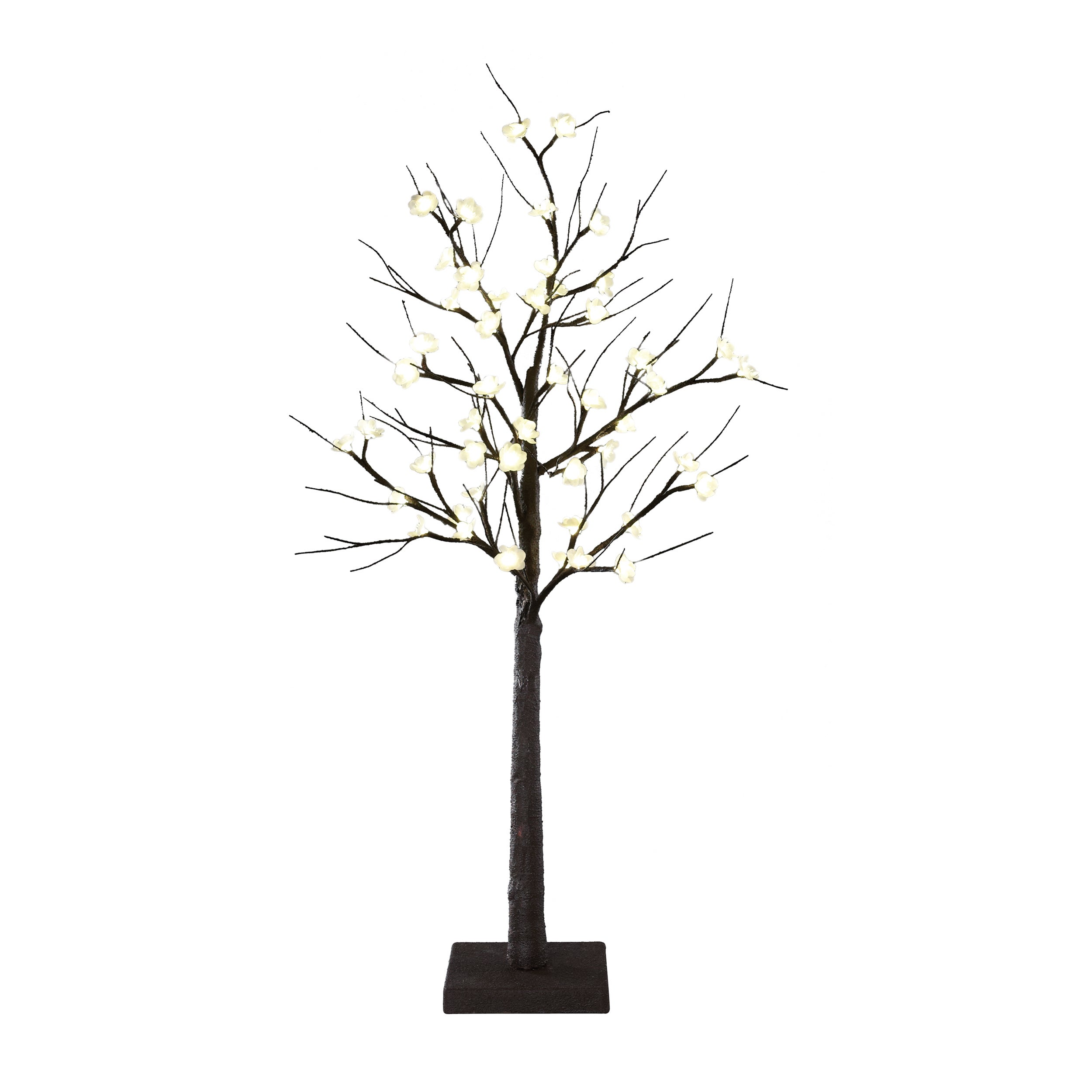 Order Home Collection LED 4ft Cherry (Red) Blossom Tree (...