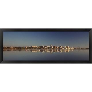 'Lake Monona, Madison, Wisconsin ' Framed Panoramic Photo