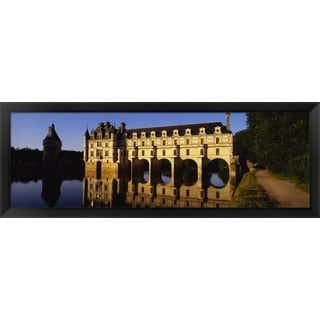 'Loire Valley, Chenonceaux, France' Framed Panoramic Photo