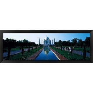 'Taj Mahal Agra India' Framed Panoramic Photo