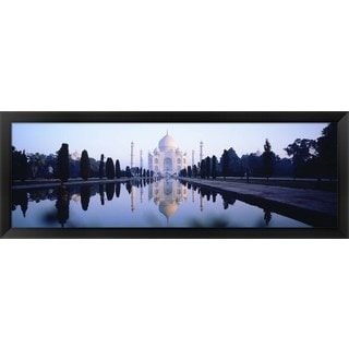 'Taj Mahal India' Framed Panoramic Photo