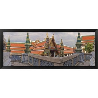 'The Grand Palace, Bangkok, Thailand' Framed Panoramic Photo