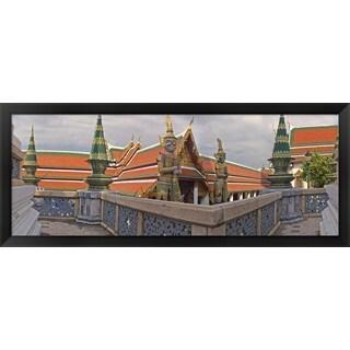 'The Grand Palace, Bangkok, Thailand' Framed Panoramic Photo