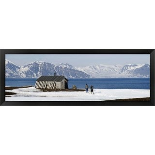 'Svalbard Islands, Norway' Framed Panoramic Photo
