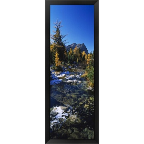 'Mount Assiniboine Provincial Park, Canada' Framed Panoramic Photo
