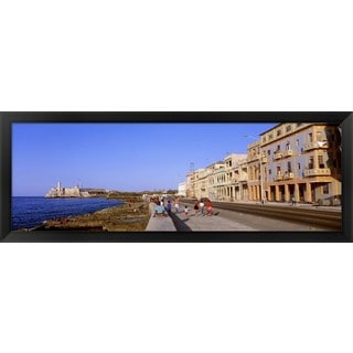 'Old Havana, Cuba' Framed Panoramic Photo