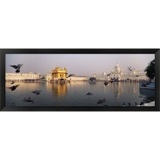 'Golden Temple, Amritsar, India' Framed Panoramic Photo
