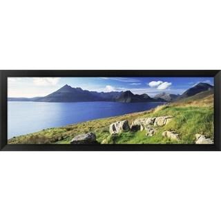 'Cuillins Hills, Isle Of Skye, Scotland' Framed Panoramic Photo