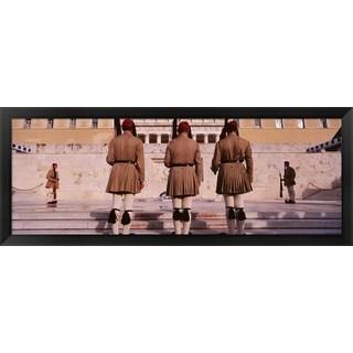 'Parliament, Athens, Greece' Framed Panoramic Photo