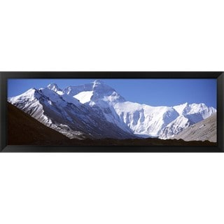 'Mt Everest, Nepal' Framed Panoramic Photo
