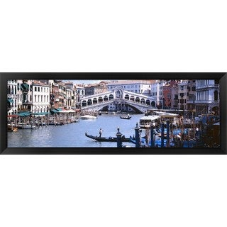 'Grand Canal, Venice, Italy' Framed Panoramic Photo
