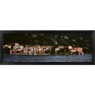 'Varenna, Lake Como, Italy' Framed Panoramic Photo