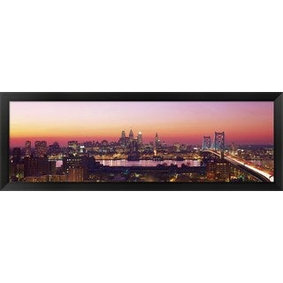 'Philadelphia, PA ' Framed Panoramic Photo