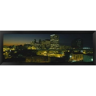'Newark, New Jersey, ' Framed Panoramic Photo