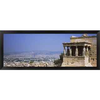 'Athens, Greece' Framed Panoramic Photo