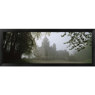 'Dunrobin Castle, Scotland' Framed Panoramic Photo