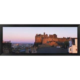 'Edinburgh Castle, Scotland' Framed Panoramic Photo