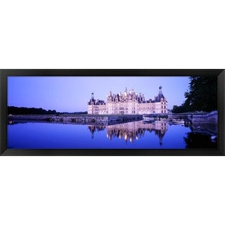 'Chateau Royal De Chambord, Loire Valley, France' Framed Panoramic Photo