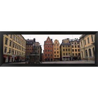 'Stortorget, Stockholm, Sweden' Framed Panoramic Photo