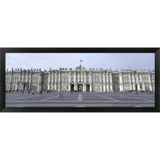 'State Hermitage Museum, Winter Palace, St. Petersburg, Russia' Framed Panoramic Photo