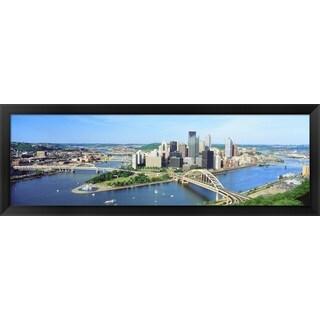 'Pittsburgh, Pennsylvania' Framed Panoramic Photo