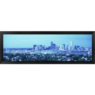 'Denver CO' Framed Panoramic Photo