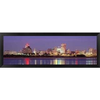 'Memphis, Tennessee' Framed Panoramic Photo