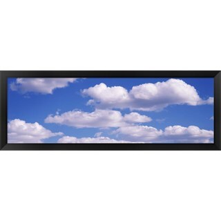 'Clouds' Framed Panoramic Photo