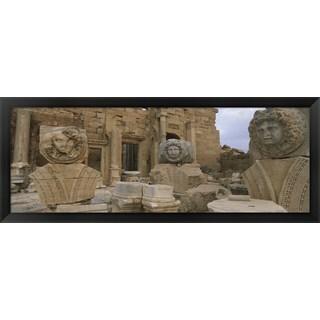 'Leptis Magna, Libya' Framed Panoramic Photo