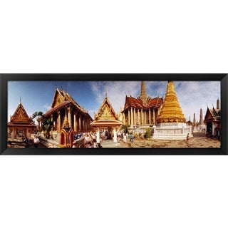'Grand Palace, Bangkok, Thailand' Framed Panoramic Photo