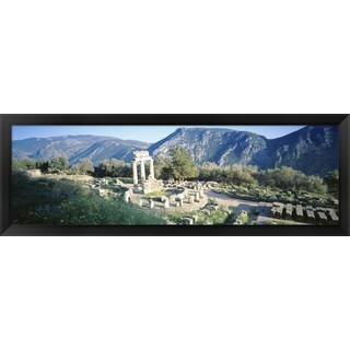 'Delphi, Greece' Framed Panoramic Photo