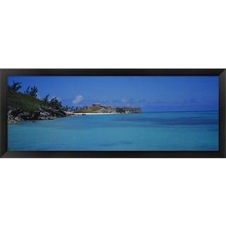 'Fort St. Catherine, St. George, Bermuda' Framed Panoramic Photo