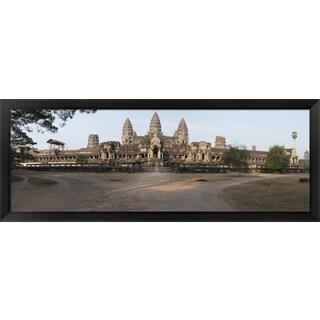 'Angkor Wat, Angkor, Cambodia' Framed Panoramic Photo