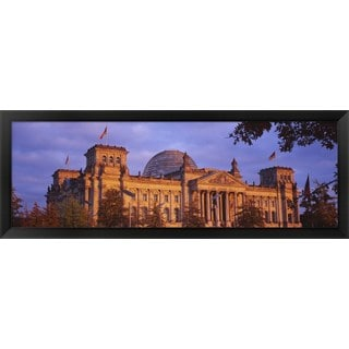 'The Reichstag, Berlin, Germany' Framed Panoramic Photo