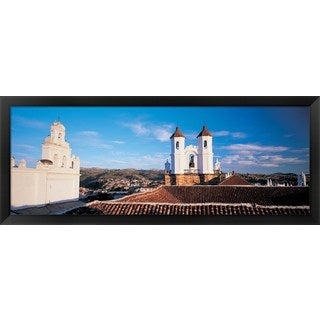 'Sucre, Bolivia' Framed Panoramic Photo