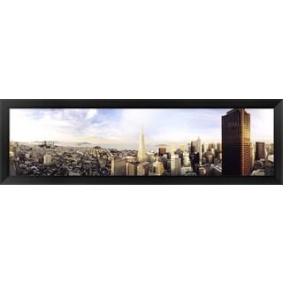 'San Francisco, California' Framed Panoramic Photo