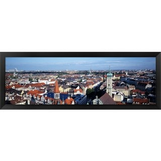 'Germany, Munich' Framed Panoramic Photo