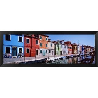 'Venetian Lagoon, Venice, Italy' Framed Panoramic Photo