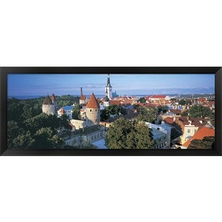 'Tallinn, Estonia' Framed Panoramic Photo