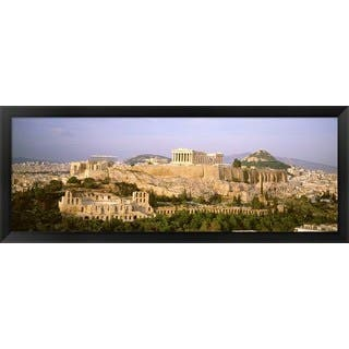 'Acropolis, Athens, Greece' Framed Panoramic Photo|https://ak1.ostkcdn.com/images/products/8977068/Acropolis-Athens-Greece-Framed-Panoramic-Photo-P16184490.jpg?impolicy=medium