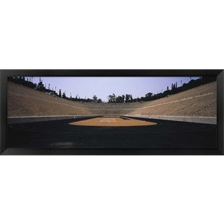 'Olympic Stadium, Athens, Greece' Framed Panoramic Photo