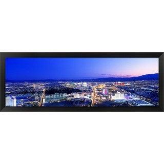 'Las Vegas Strip, Nevada' Framed Panoramic Photo