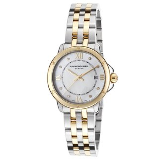 Raymond Weil Women's 'Tango' Two-tone Stainless Steel Watch