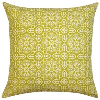 Haveli Green Pillow , Handmade in India