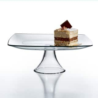 Soho Clear Glass Pedestal Plate|https://ak1.ostkcdn.com/images/products/8977193/Soho-Clear-Glass-Pedestal-Plate-P16184646.jpg?impolicy=medium