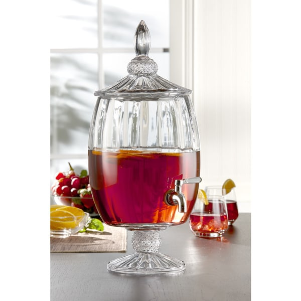Shop Madison Decorative Glass Beverage Dispenser Free