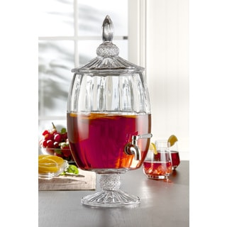 madison decorative glass beverage dispenser - Drink Dispensers