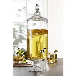 Westchester Decorative Glass Beverage Dispenser