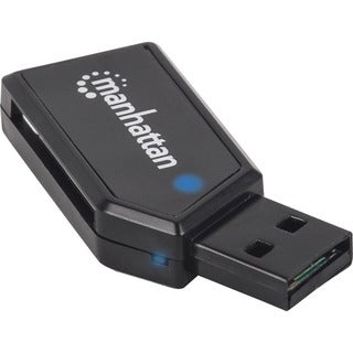 Manhattan Mini Hi-Speed USB 24-in-1 Multi-Card Reader/Writer