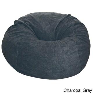 Anti-pill 36-inch Wide Fleece Washable Bean Bag Chair